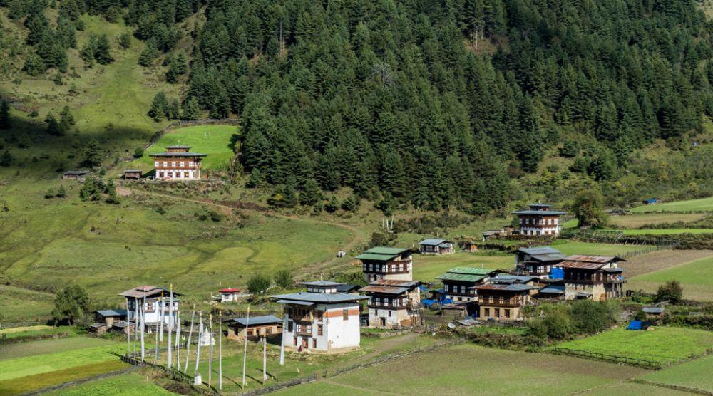 Nyelung Drachaling, Phobjikha Valley