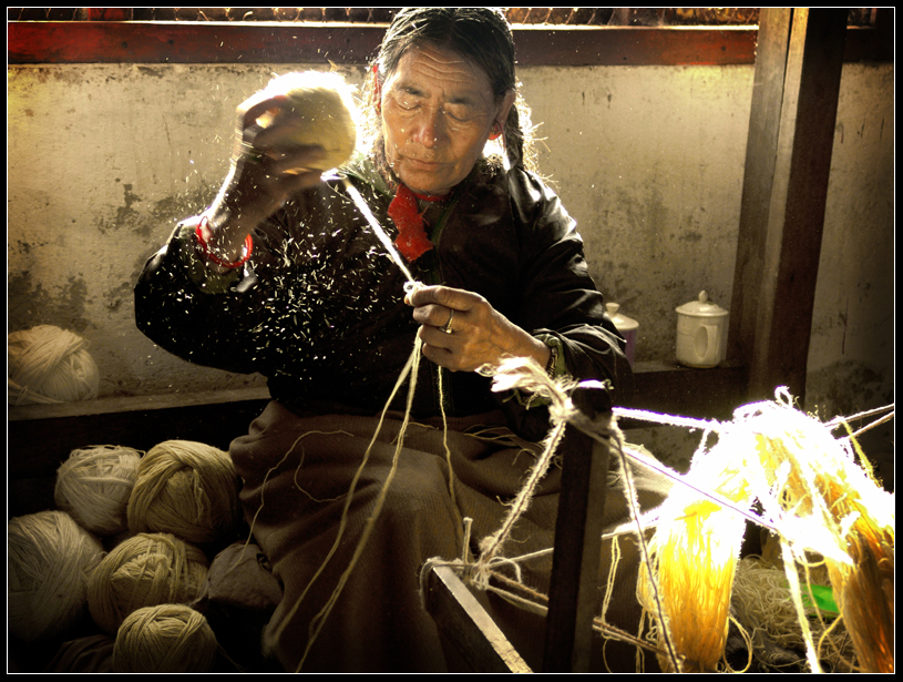 Wangmo Hand-Woven Carpet Factory, Phobjikha Valley